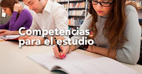 Competencias para el estudio